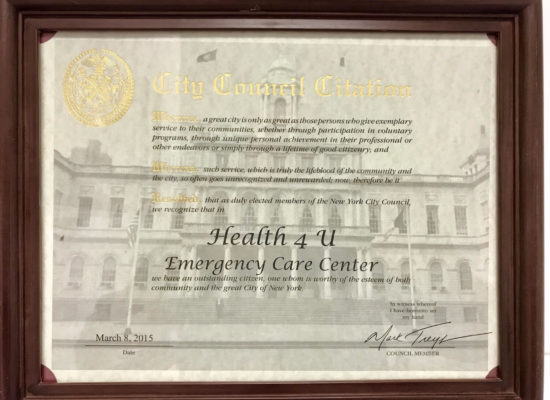 City Council Citation Emergancy Care Center